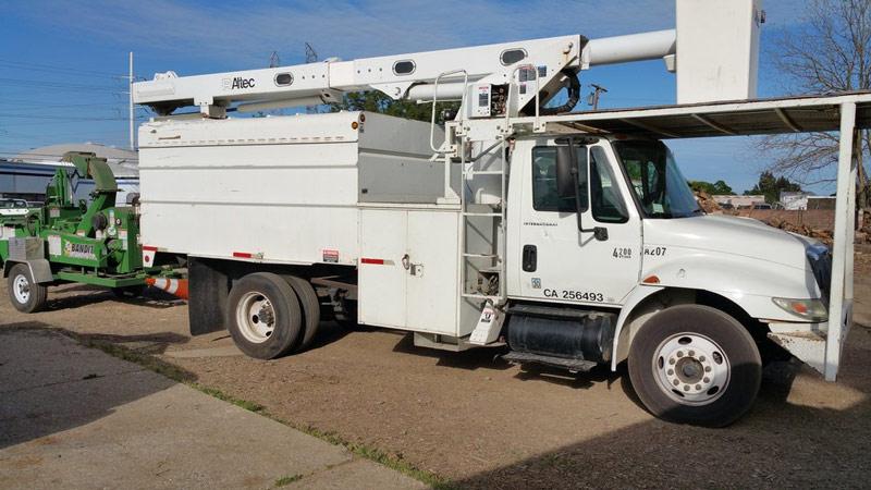 S&J Tree Care Truck