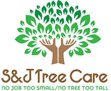 S & J Tree Care Logo